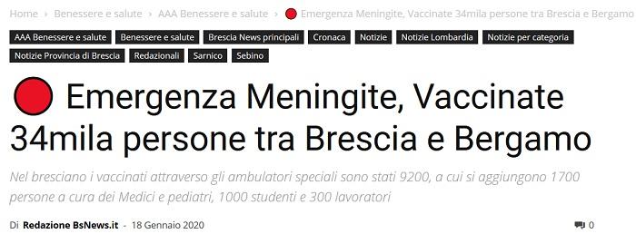 Zusammentreffen in Bergamo